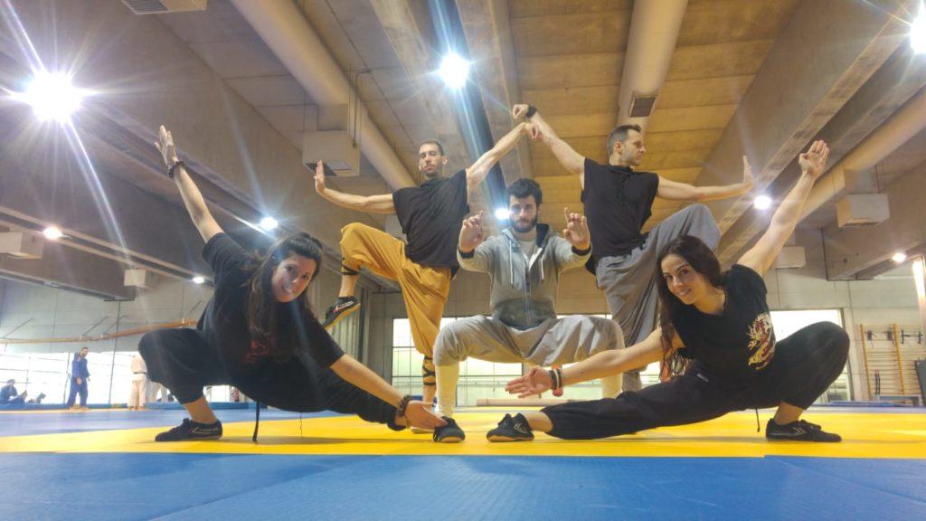 Kung Fu en el entrenamiento de Wushu del C.A.R. Madrid